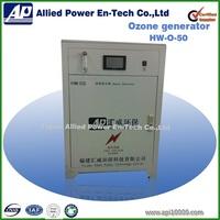 Ozone machine for gas odor control