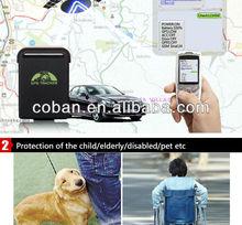 COBAN original GPS tracker hidden mini gps tracker TK102B for personal and car gps tracker
