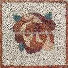 marble mosaic medallion, mosaic stepping stone patterns