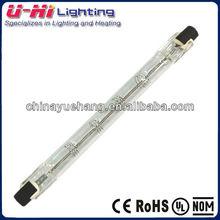 Tipo J de tungstênio de iodo lâmpada 500 W 1000 W