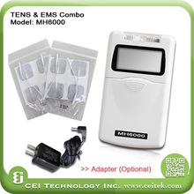 2015 Hot selling Electronic Muscle Stimulation EMS & Transcutaneous Electrical Nerve Stimulation TENS portable electronic muscle