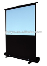 """Protable Floor Pull Up Projection Screen/100""""(4:3) 92""""(16:9) Floor Stand Projection Screen"""