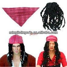 LA101 2012 hot sell Captain jack wig turbans