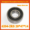 Wheel bearing celing fans bearing meachine parts bearing 6204zz 6204 2RS 20*47*14
