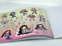 Professional Frency Children Sticker Book