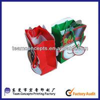 lovely kid decorate handmade gift paper bag