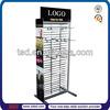 TSD-M050 custom supermarket promotion metal display shelf/ hook metal display stand/ floor metal display rack