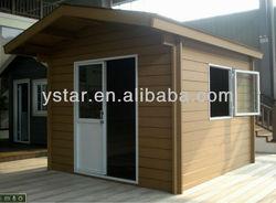 European 2014 Hot sale wooden Garden house /European Easy click /100% FSC WPC storage house