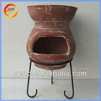 Hot Sale! Terracotta outdoor chiminea for Garden Decoration
