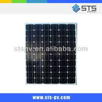 150W solar cells mono crystalline solar panel