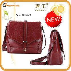 Autumn/winter fashion handmade guangzhou leather bags manufacturer 80046