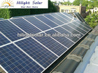 Poly solar panel 250w & solar panel 250W 60 cells with CE TUV IEC