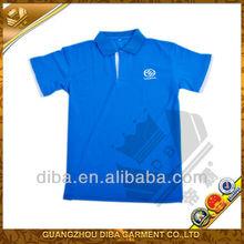Cotton men's bule polo t-shirt wholesale cheap
