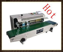 Plastic Film Sealing machine+Vertical Sealing+date printing+seal belt