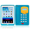 Sky Blue 3D telephone Design Silicone Case for iPad Mini