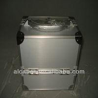 Aluminum beauty case for cosmetics