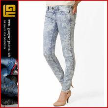 Acid wash skinny jeans nuevo+modelo+de+jeans+para+dama new model jeans for lady(GYX0587)