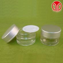 20ml Cosmetic clear glass jars