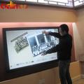 """70"""" marco de infrarrojos lcd monitor de pantalla táctil de alta definición ventanas android 3g wifi"""