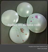 OEM blowing diffuser Acrylic Plastic lamp shade