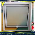 Baño estándar tamaño de la ventana de doble cristal puertas y ventanas de aluminio con AS2047 AS2208 ASS1288