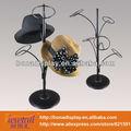Cap display stand para marca de fio de ferro