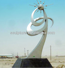 Modern Large Arts&collection stainless steel Sculpture for sale