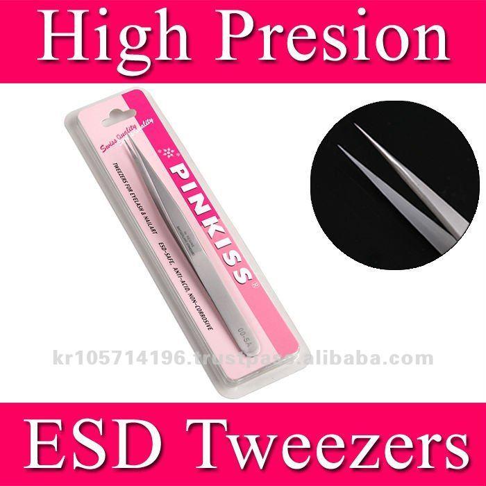 PINKISS Tweezers for eyelash extensions (00.SA)/eyelash extension tweezers