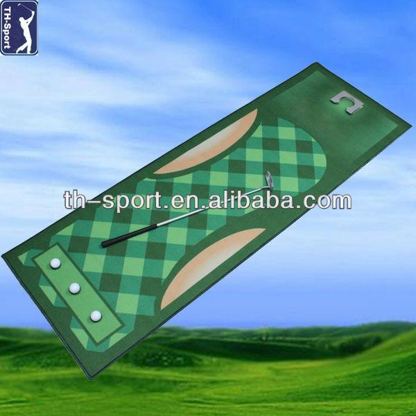 Mini Indoor Golf Practice Putting Mat
