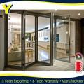 Las normas australianas como as2047/nzs2208 as1288 de aluminio doble acristalamiento en ventanas y puertas de aluminio | puerta plegable