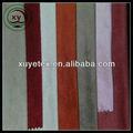 Camurça do falso tecido de urdidura tingidos 75*225d sofá de tecido made in china
