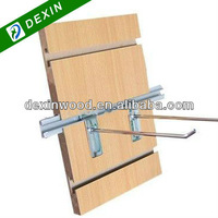 Melamine Faced Slot MDF Display Board