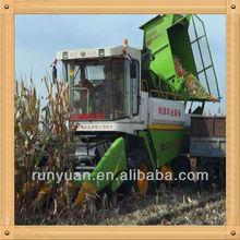 Común agricultura herramientas para cosecha y peeling los cultivos de maíz cosechadora de la máquina 4YZ-4