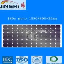 Wholesale cheap price 180w mono silicon sunpower solar panel