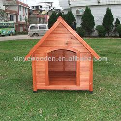 wooden dog kennel LWH-0111