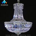 cromo pequeño 6 la luz de la lámpara de cristal de la empresa