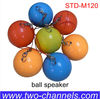Portable rechargeable bluetooth wireless Ball speaker