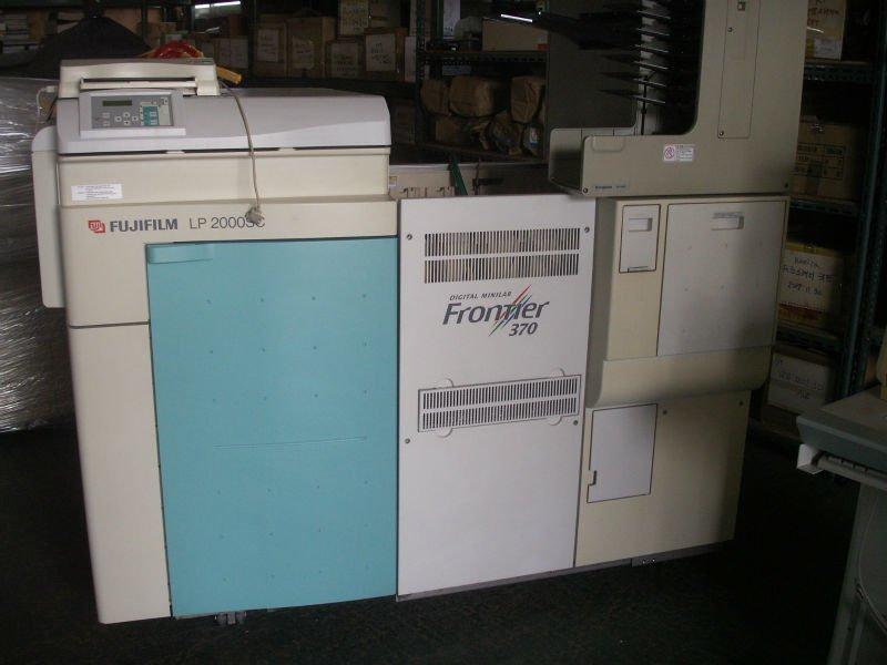 Used Minilab - Fuji FRONTIER 370(SP2000/LP2000)