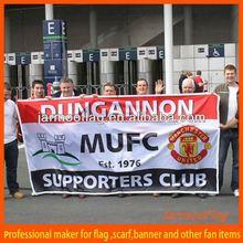 football supporter custom vinyl banner