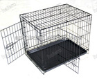 Two Doors Welded Metal Wire Dog Crate,Dog Cage DSA48