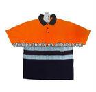 Short sleeve Fluorescent high visibility button shirts