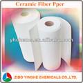 Refractarios de alta temperatura de cerámica de lana de fibra de papel, resistente al fuego de papel