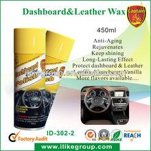 Car Dashboard Leather Wax(Lemon,vanilla, strawberry, apple,etc.)