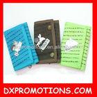 promotional children/kids cotton wallet/children wallet