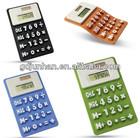 Promotion solar silicon rubber calculator