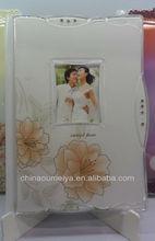 2014 new design Crystal Acrylic wedding album covers