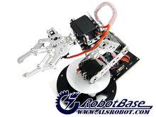 As-6dofอลูมิเนียมแขนหุ่นยนต์การศึกษาหุ่นยนต์หุ่นยนต์ควบคุมด้วยไฟฟ้าประกวดคำแนะนำ