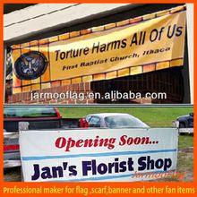 promotional outdoor reflective vinyl banner