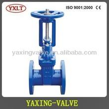 DIN F4/F5 rising stem gate valve
