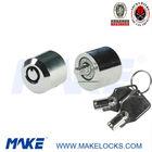 High security tubular key case lock